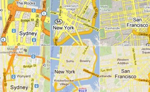 Google City Maps