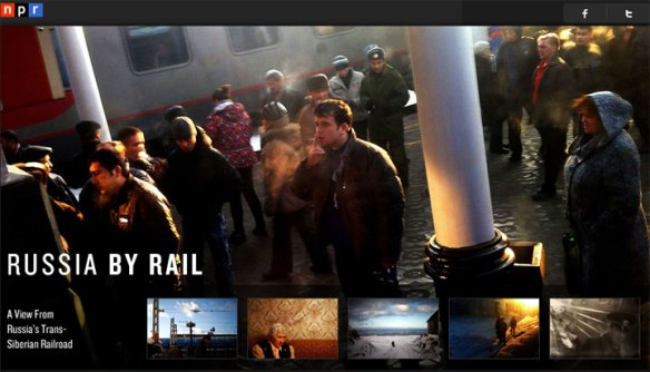 Russia By Rail from NPR