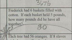 Worksheet Question