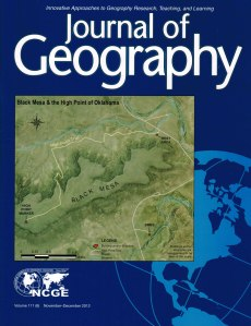 Journal of Geography Cover